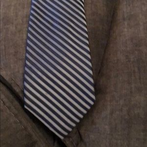 Calvin Klein Blue striped tie